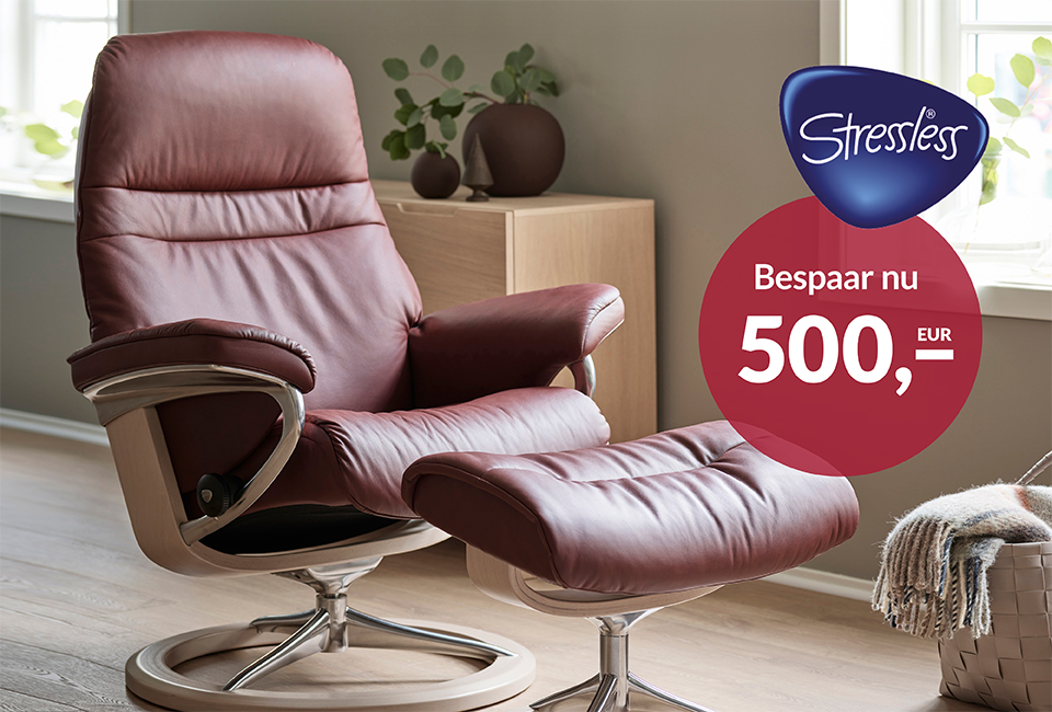 Stressless herfstcampagne fauteuils