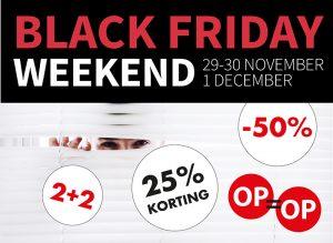 Black Friday acties Kruit & Kramer